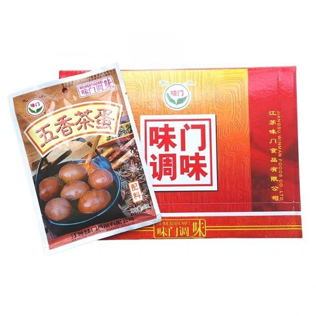 【常温便】茶葉玉子の素/味門牌五香茶葉蛋料20g