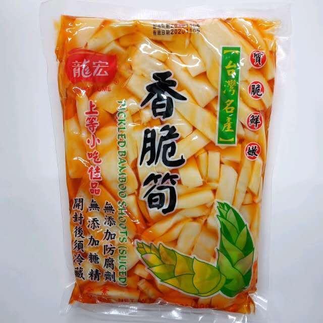 【常温便】台湾味付ピリ辛メンマ/台湾産 香脆筍600g