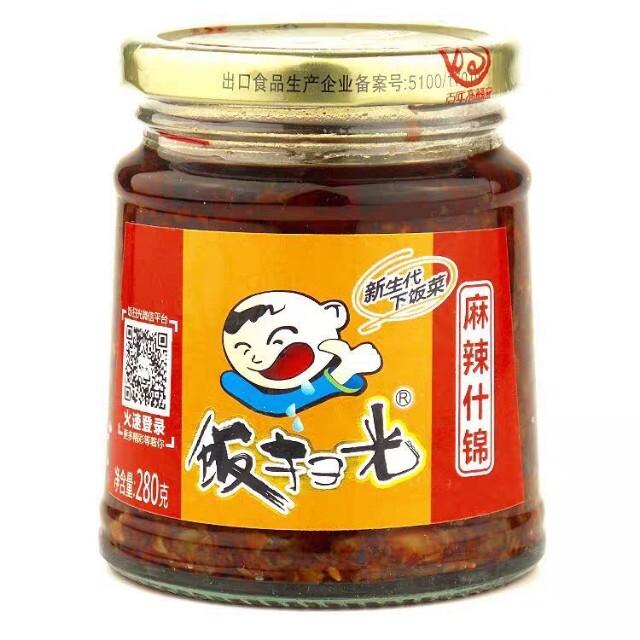 【常温便】飯掃光 麻辣什錦 280g
