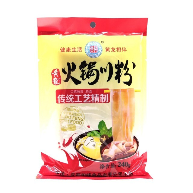 【常温便】黄龍火鍋用サツマイモ春雨/黄龍火鍋川粉240g