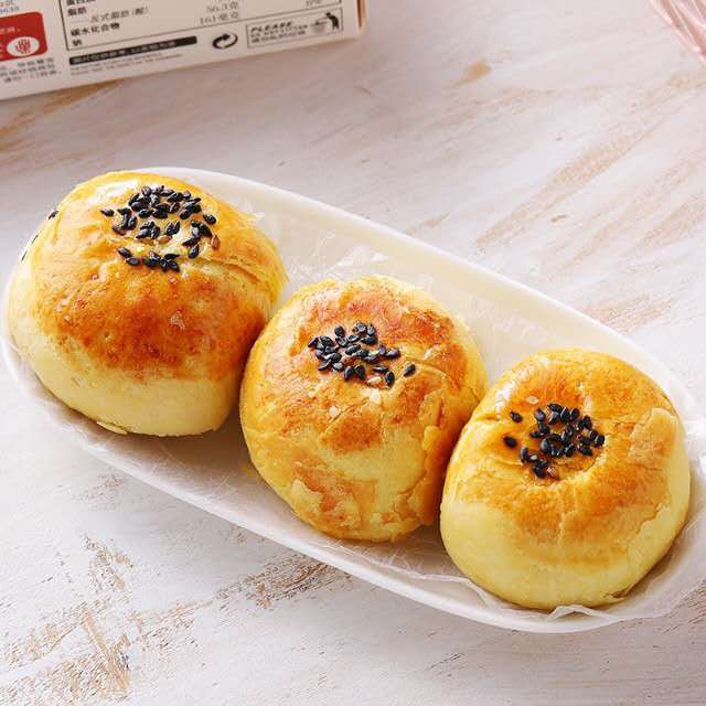 【常温便】中華お菓子 塩卵の黄身入蛋黄蘇/蛋黄蘇
