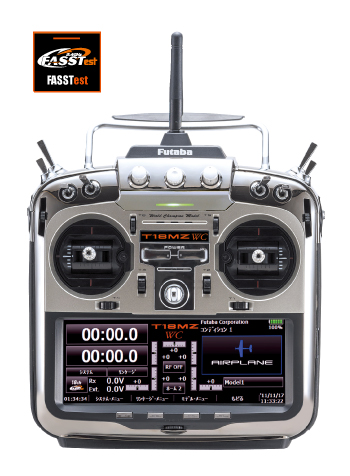 フタバ 18MZ-WC ヘリ用 T/Rセット(028120)