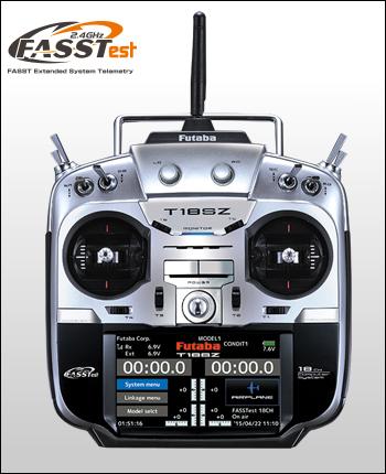 フタバ 18SZ ヘリ用 T/Rセット R7003SB付(027444)