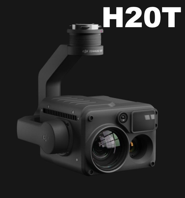 【お見積もりいたします】 DJI DJI Zenmuse H20T 広角カメラ、ズームカメラ、レーザー距離計、放射分析サーマルカメラ(DJI事故保証Enterprise Shield Plus付属)