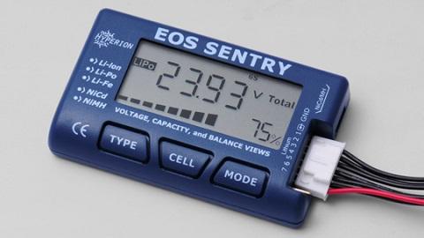 Hyperion EOS SENTRYバッテリーチェッカー V2