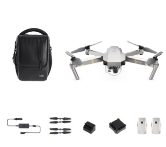 DJI MAVIC PRO PLATINUM FlY More Combo (フライト調整済)
