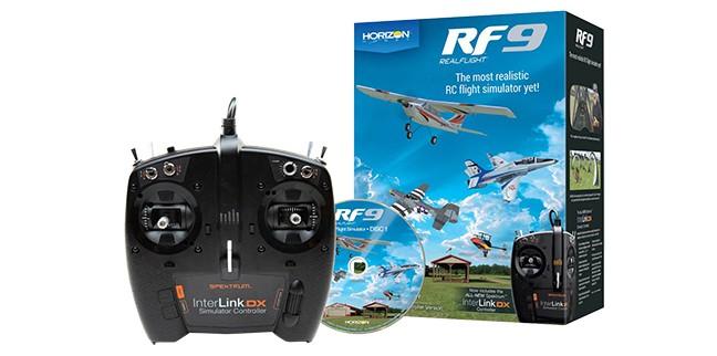 RealFlight RF9 フライトシミュレーター Spektrum コントローラーセット 日本語取扱説明書完全版付き