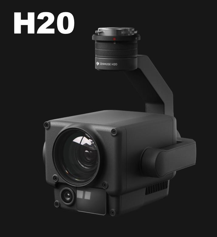 【お見積もりいたします】 DJI DJI Zenmuse H20 広角カメラ、ズームカメラ、レーザー距離計(DJI事故保証Enterprise Shield Plus付属)