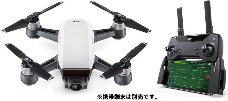 ★キャンペーンプライス★ DJI  Spark Fly More Combo 各色