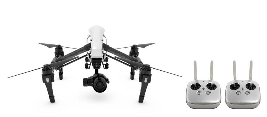 DJI INSPIRE 1 RAW (2パイロット仕様・ミラーレスZENMUSE X5R カメラ搭載モデル・RAW動画撮影可能)【日本仕様】