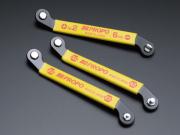 JR PROPO オフセット薄型レンチ(角度付) JR オリジナルツール「M-TOOLS」シリーズNEW