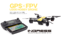 【GPS搭載 200g以下ドローン】G FORCE 2.4GHz 4ch Quadcopter INGRESS