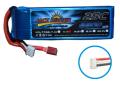 RCネットサービス JACK POWER リポバッテリー 7.4V 1800mAh 35C