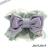 【親子お揃いプレゼント】ピンクドットグリーンとブルーリボンのママシュシュ【出産祝い/誕生日/ジュメル神戸/記念】サイズ