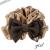 【親子お揃いプレゼント】キャメルとチョコブラウンリボンのガールズシュシュ【出産祝い/誕生日/ジュメル神戸/子ども】サイズ
