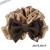 【親子お揃いプレゼント】キャメルとチョコブラウンリボンのママシュシュ【出産祝い/誕生日/ジュメル神戸/妻】サイズ