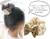親子お揃いシュシュ(ペアヘアアクセサリー)専門店ジュメルベージュレースガールズシュシュ【出産祝い/誕生日/子ども】メイン 1