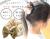 親子お揃いシュシュ(ペアヘアアクセサリー)専門店ジュメルベージュレースガールズシュシュ【出産祝い/誕生日/子ども】メイン