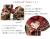 【親子お揃いプレゼント】チェックとボルドーリボンママシュシュ【出産祝い/誕生日/オシャレ】メイン 3
