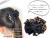 【親子お揃いプレゼント】エレガントレオパードとブラックドットリボンガールズシュシュ【出産祝い/誕生日/クリスマス】詳細