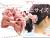 親子お揃いシュシュ(ペアヘアアクセサリー)専門店ジュメルオーガニックコットンピンクチェックピンクリボンガールズママアレンジ画像