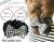親子お揃い(ペアヘアアクセサリー)専門店ジュメルブラックギンガムチェックママシュシュドーナツ【出産祝い/誕生日/妻】メイン1