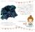 【親子お揃いプレゼントグリーンチェックネイビーリボンベビーシュシュ(ラトル)【出産祝い/誕生日/オシャレ】メイン 1