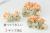 【親子お揃いプレゼント】オレンジギンガムチェックとベージュリボンシュシュ【出産祝い/誕生日/ジュメル神戸/妻】詳細