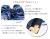【親子お揃いプレゼント】ネイビーボーダーとネイビーリボンのママシュシュ【出産祝い/誕生日/ジュメル神戸/クリスマス】詳細