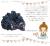 【親子お揃いプレゼント】ネイビーシフォンとダブルカラーリボンのベビーラトル【出産祝い/誕生日/ジュメル神戸/記念】メイン 1