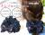 【親子お揃いプレゼント】ネイビーシフォンとダブルカラーリボンのママシュシュ【出産祝い/誕生日/ジュメル神戸/妻】メイン