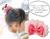 【親子お揃いプレゼント】ピンクシフォンとピンクリボン子どもシュシュ【出産祝い/誕生日/記念】メイン 1