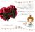 【親子お揃いプレゼント】ピンクレッドとチョコブラウンリボンのベビーシュシュ【出産祝い/誕生日/ジュメル神戸/クリスマス】メイン 1