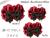 【親子お揃いプレゼント】ピンクレッドとチョコブラウンリボンのママシュシュ【出産祝い/誕生日/ジュメル神戸/クリスマス】3サイズ