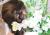 【親子お揃いプレゼント】マカロンパステルイエローとベージュリボンママシュシュ【出産祝い/誕生日/妻/ママ友】メイン1
