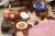 【親子お揃いプレゼント】ネイビーとボーダーネイビーリボンのママシュシュ【出産祝い/誕生日/ジュメル神戸/クリスマス】画像2