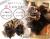 【親子お揃いプレゼント】キャメルとチョコブラウンリボンのママシュシュ【出産祝い/誕生日/ジュメル神戸/妻】メイン2