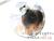 【親子お揃いプレゼント/高級シュシュ】グリーンツイードと白リボン子どもシュシュ【出産祝い/ペア/誕生日/ジュメル神戸】画像