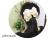 【親子お揃いプレゼント/高級シュシュ】イエローツイードと白ドットリボンのママシュシュ【出産祝い/ペア/誕生日/ジュメル神戸】1