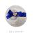 【親子お揃いプレゼント】ジュメル神戸ファーストベビースワロフスキー付ヘアクリップ【誕生日/可愛い/国産/日本製】ロイヤルブルー