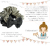 親子お揃いシュシュ(ペアヘアアクセサリー)専門店ジュメル格子ブラックサテンベビーラトル【出産祝い/誕生日/妻/クリスマス】メイン 1