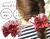 親子お揃いシュシュ(ペアヘアアクセサリー)専門店ジュメルツイードママシュシュレッド【出産祝い/誕生日/妻】メイン 1