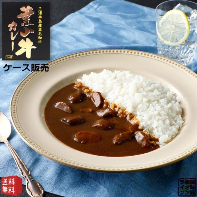 神奈川県産黒毛和牛 葉山牛カレー レトルトカレー 中辛 210g×30個(ケース販売)かながわブランド認定