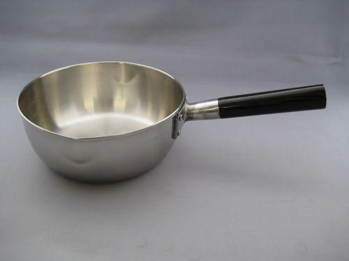 三層鋼雪平鍋(IH対応) 18cm
