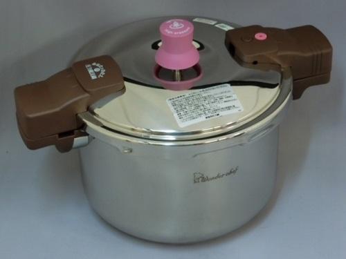 ワンダーシェフ あなたと私の圧力魔法鍋 両手 5.5L(ZADA55) 200V電磁調理器対応