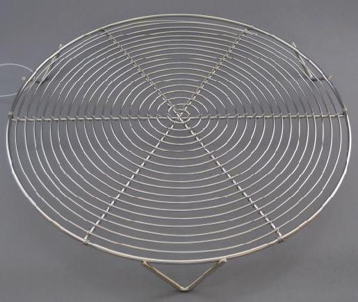 ケーキクーラー 丸型 18−8 24cm