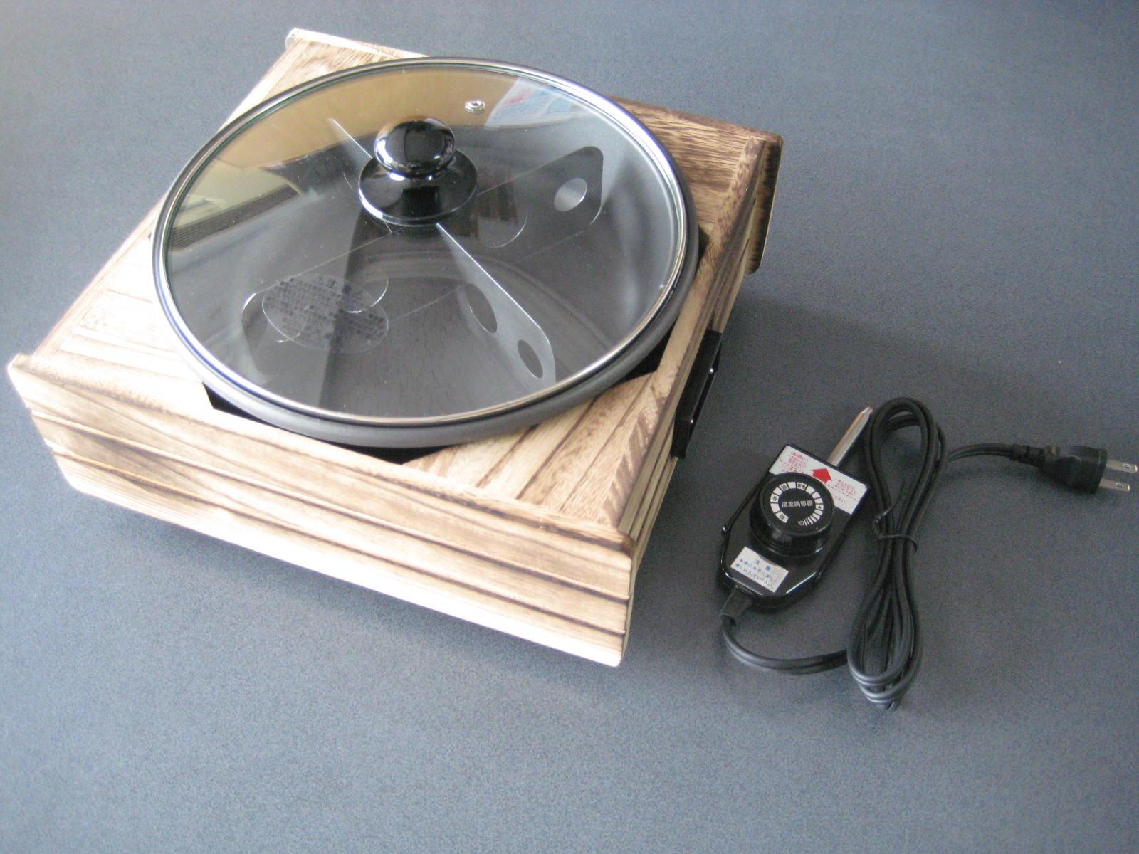 【日本製】温調式電気卓上おでん鍋