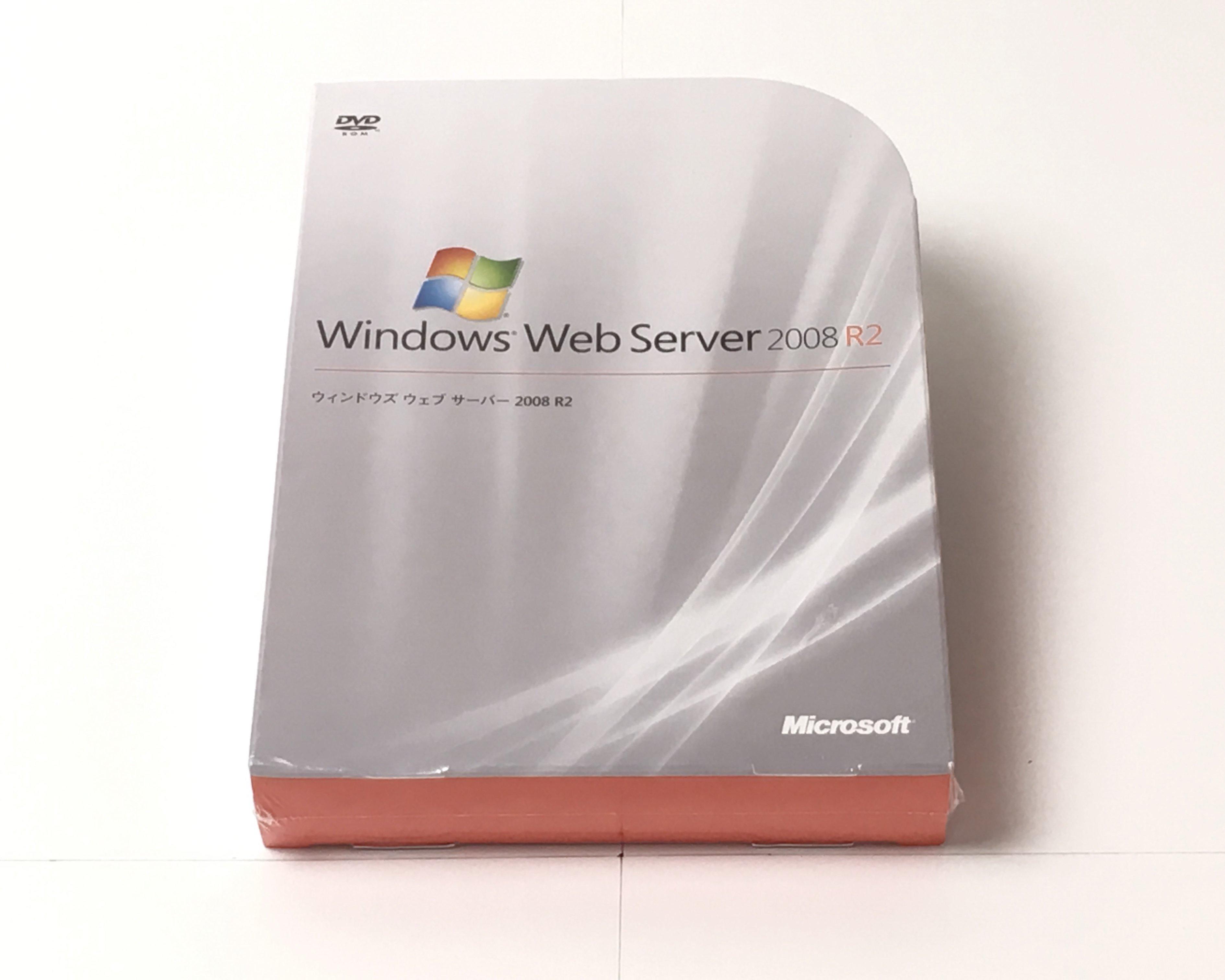 【新品】Microsoft Windows Web Server 2008 R2 メイン画像