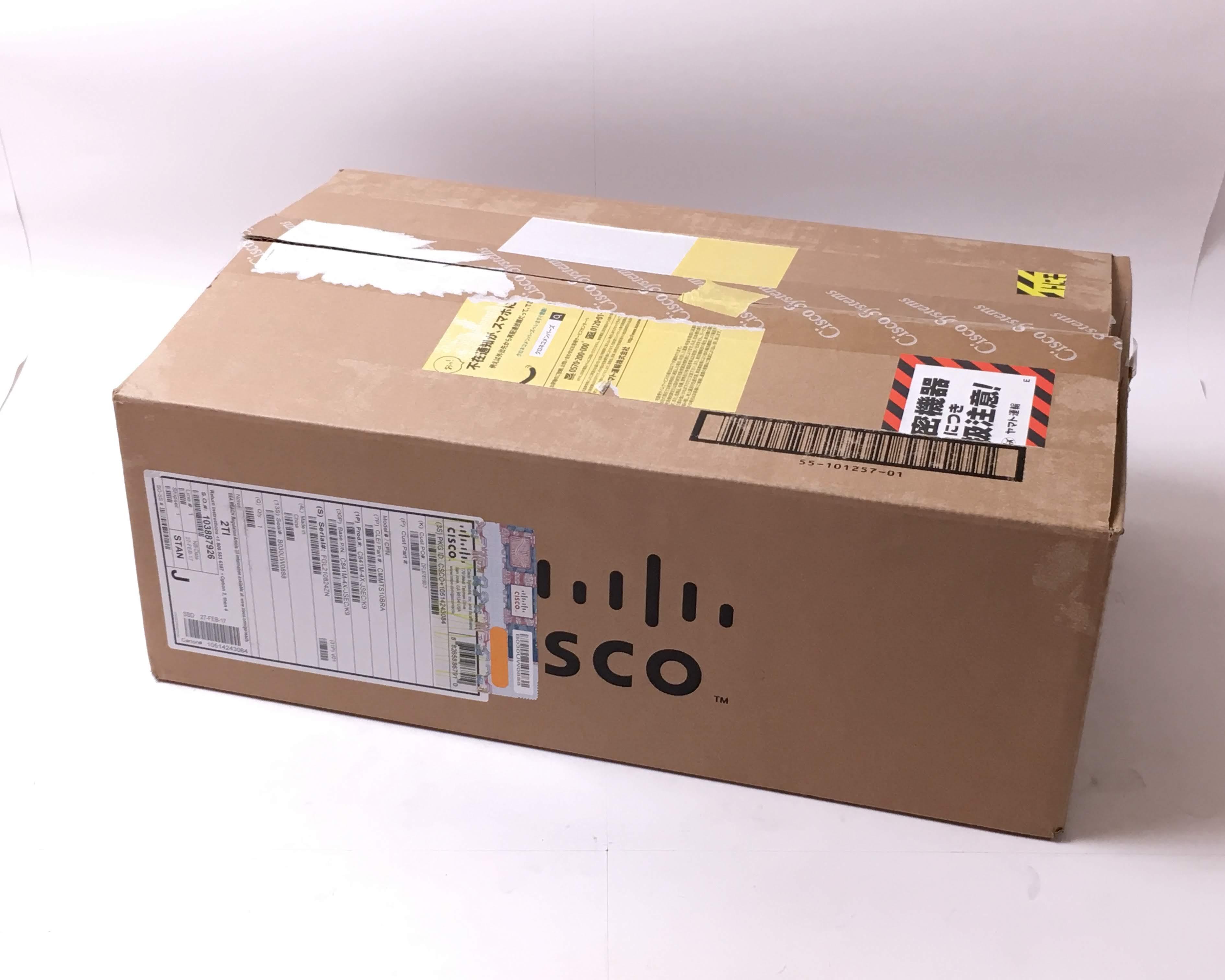 【新品】Cisco 841M Jシリーズ C841M-4X-JSEC/K9 メイン画像