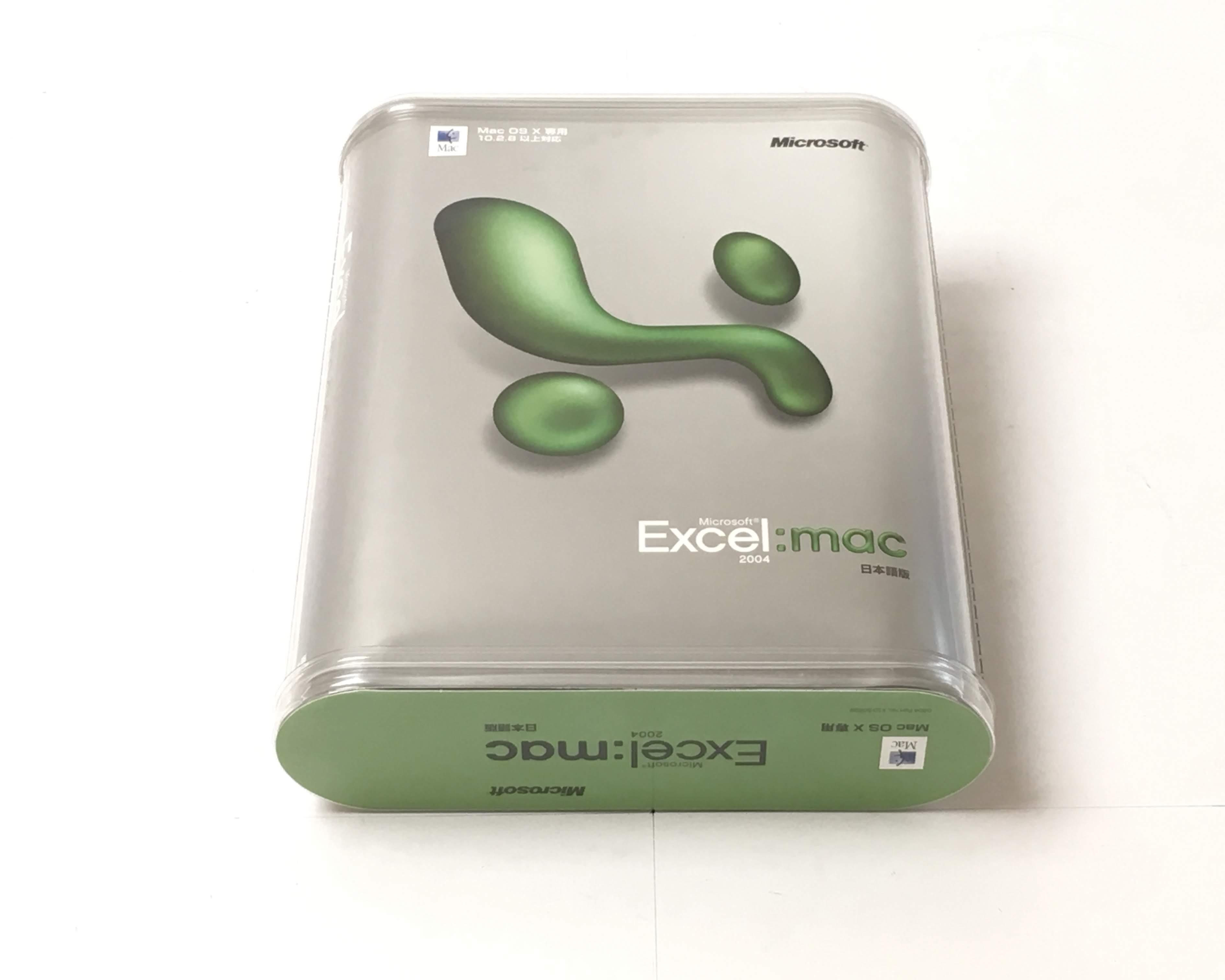 【中古】Excel 2004 for Mac Standard Edition 通常版 メイン画像